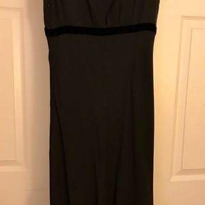 LOFT Dresses - Long Lace and Silk Dress